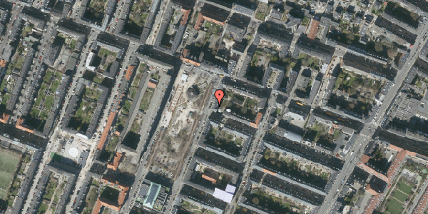 Oversvømmelsesrisiko fra vandløb på Aksel Møllers Have 5, st. tv, 2000 Frederiksberg