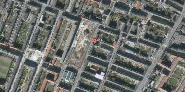 Oversvømmelsesrisiko fra vandløb på Aksel Møllers Have 7, 3. th, 2000 Frederiksberg
