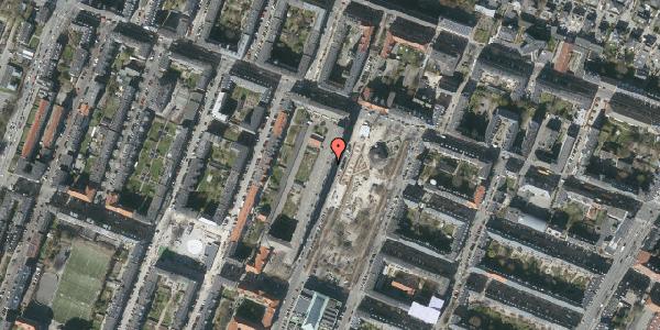 Oversvømmelsesrisiko fra vandløb på Aksel Møllers Have 8, 7. th, 2000 Frederiksberg