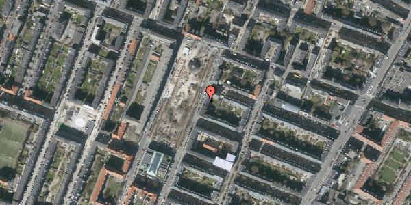 Oversvømmelsesrisiko fra vandløb på Aksel Møllers Have 9, 1. th, 2000 Frederiksberg