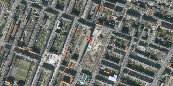Oversvømmelsesrisiko fra vandløb på Aksel Møllers Have 10, 5. th, 2000 Frederiksberg