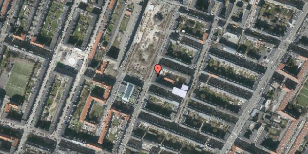 Oversvømmelsesrisiko fra vandløb på Aksel Møllers Have 15, st. th, 2000 Frederiksberg