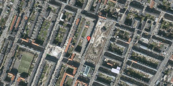 Oversvømmelsesrisiko fra vandløb på Aksel Møllers Have 16, st. th, 2000 Frederiksberg