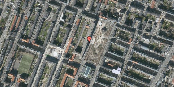 Oversvømmelsesrisiko fra vandløb på Aksel Møllers Have 16, 4. tv, 2000 Frederiksberg