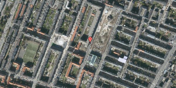 Oversvømmelsesrisiko fra vandløb på Aksel Møllers Have 24, st. mf, 2000 Frederiksberg