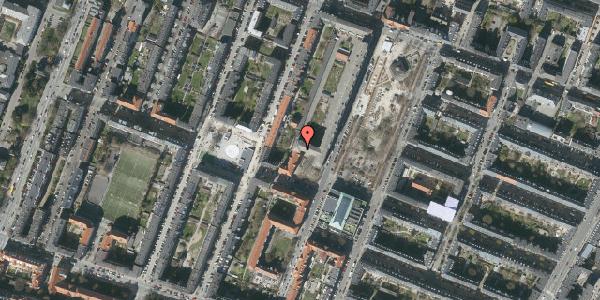 Oversvømmelsesrisiko fra vandløb på Aksel Møllers Have 30, 3. mf, 2000 Frederiksberg