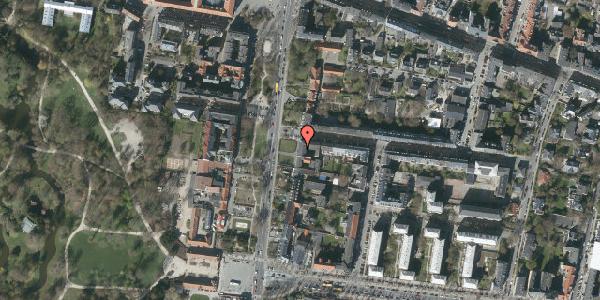 Oversvømmelsesrisiko fra vandløb på Allegade 14, 1. th, 2000 Frederiksberg