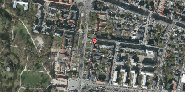 Oversvømmelsesrisiko fra vandløb på Allegade 14, 2. th, 2000 Frederiksberg