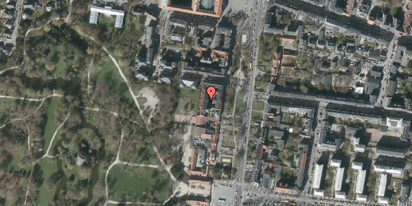 Oversvømmelsesrisiko fra vandløb på Allegade 15C, 3. tv, 2000 Frederiksberg