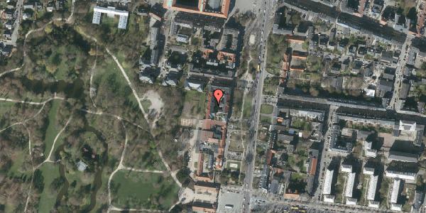 Oversvømmelsesrisiko fra vandløb på Allegade 15C, 4. th, 2000 Frederiksberg