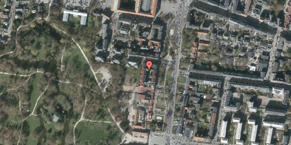 Oversvømmelsesrisiko fra vandløb på Allegade 17B, 5. , 2000 Frederiksberg