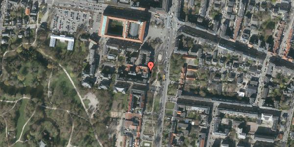 Oversvømmelsesrisiko fra vandløb på Allegade 23, st. , 2000 Frederiksberg