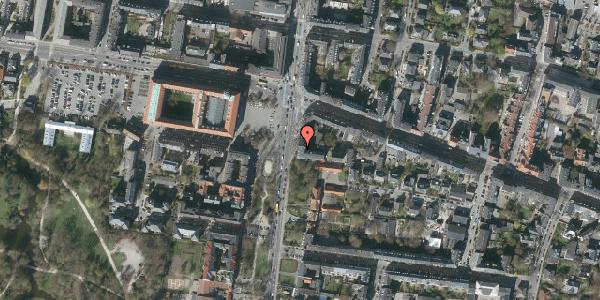 Oversvømmelsesrisiko fra vandløb på Allegade 24A, 2. tv, 2000 Frederiksberg