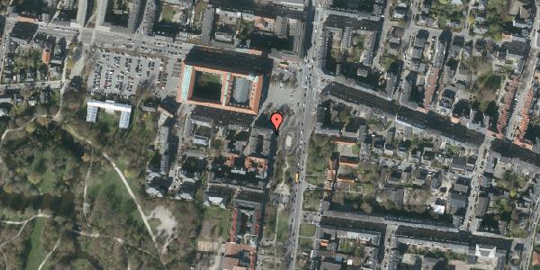 Oversvømmelsesrisiko fra vandløb på Allegade 29, 4. th, 2000 Frederiksberg