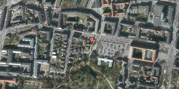 Oversvømmelsesrisiko fra vandløb på Andebakkesti 4, st. th, 2000 Frederiksberg