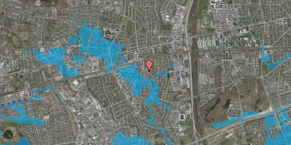 Oversvømmelsesrisiko fra vandløb på Anemonevej 10, 2600 Glostrup