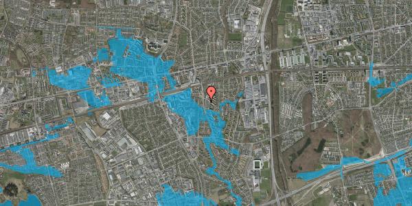 Oversvømmelsesrisiko fra vandløb på Anemonevej 13, 2600 Glostrup