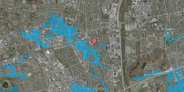 Oversvømmelsesrisiko fra vandløb på Anemonevej 14, 2600 Glostrup