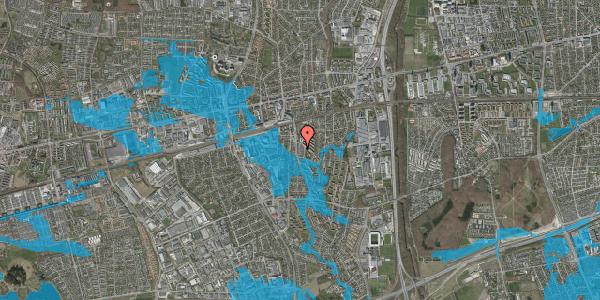 Oversvømmelsesrisiko fra vandløb på Anemonevej 15, 2600 Glostrup