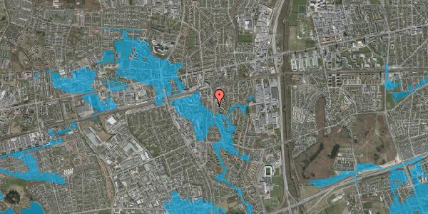 Oversvømmelsesrisiko fra vandløb på Anemonevej 18, 2600 Glostrup
