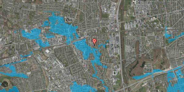 Oversvømmelsesrisiko fra vandløb på Anemonevej 19, 2600 Glostrup