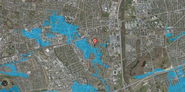 Oversvømmelsesrisiko fra vandløb på Anemonevej 23, 2600 Glostrup