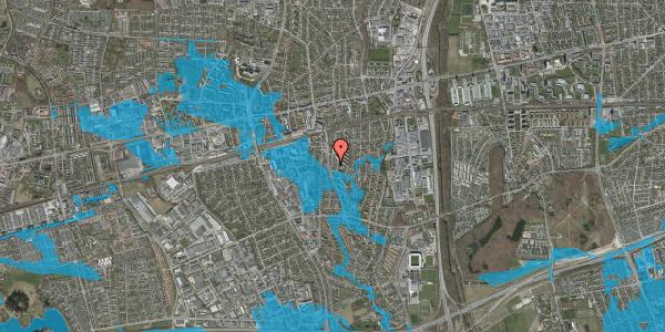 Oversvømmelsesrisiko fra vandløb på Anemonevej 25, 2600 Glostrup