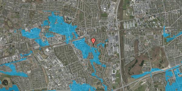 Oversvømmelsesrisiko fra vandløb på Anemonevej 29, 2600 Glostrup