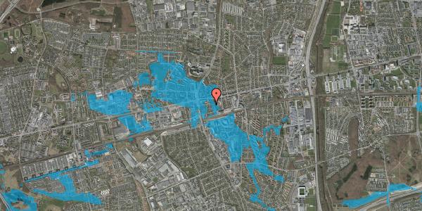Oversvømmelsesrisiko fra vandløb på Asylvej 1, st. , 2600 Glostrup