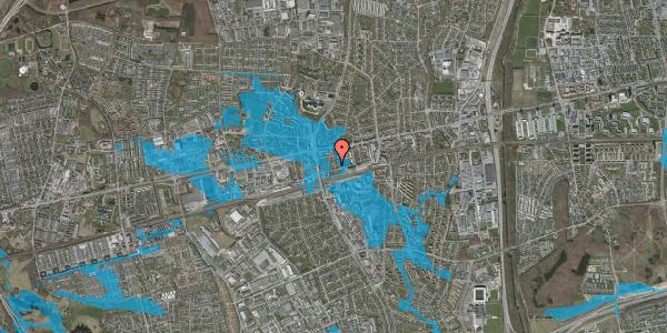 Oversvømmelsesrisiko fra vandløb på Asylvej 4, 2600 Glostrup