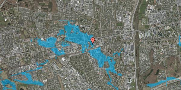 Oversvømmelsesrisiko fra vandløb på Asylvej 23, st. , 2600 Glostrup