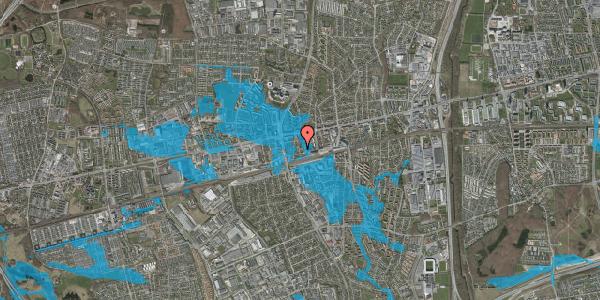 Oversvømmelsesrisiko fra vandløb på Asylvej 33, 1. , 2600 Glostrup
