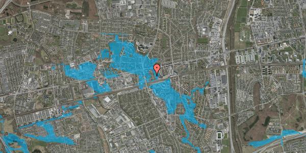 Oversvømmelsesrisiko fra vandløb på Asylvej 35, 1. , 2600 Glostrup