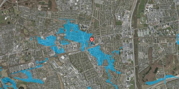 Oversvømmelsesrisiko fra vandløb på Asylvej 41, 1. , 2600 Glostrup