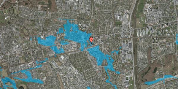 Oversvømmelsesrisiko fra vandløb på Asylvej 43, 1. , 2600 Glostrup
