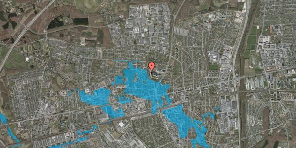 Oversvømmelsesrisiko fra vandløb på Bakken 7, 2600 Glostrup