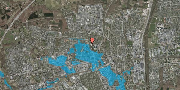 Oversvømmelsesrisiko fra vandløb på Bakken 11, 2600 Glostrup