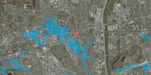 Oversvømmelsesrisiko fra vandløb på Banegårdspladsen 5, 1. tv, 2600 Glostrup