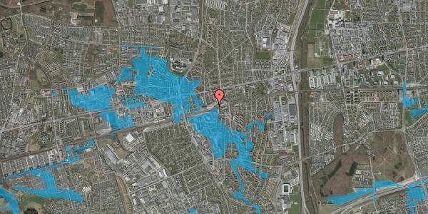 Oversvømmelsesrisiko fra vandløb på Banegårdspladsen 7, 1. , 2600 Glostrup
