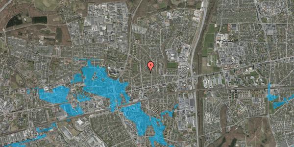 Oversvømmelsesrisiko fra vandløb på Birke Alle 11, 2600 Glostrup