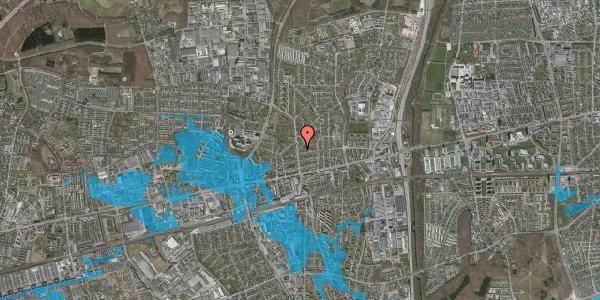 Oversvømmelsesrisiko fra vandløb på Birkehøj 2, 2600 Glostrup