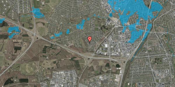 Oversvømmelsesrisiko fra vandløb på Bjergbakkevej 15, 2600 Glostrup