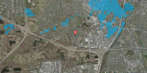 Oversvømmelsesrisiko fra vandløb på Bjergbakkevej 146, 2600 Glostrup
