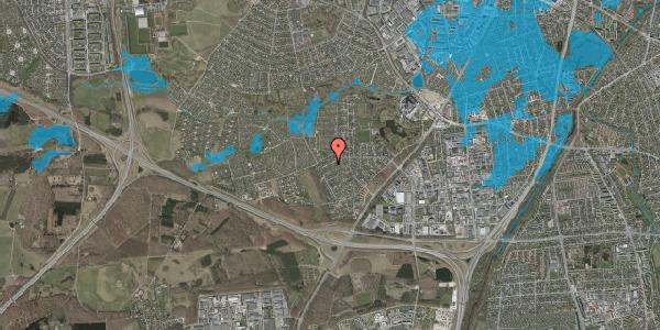 Oversvømmelsesrisiko fra vandløb på Bjergbakkevej 240, 2600 Glostrup