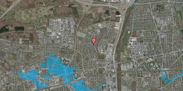 Oversvømmelsesrisiko fra vandløb på Bogfinkevej 19, 2600 Glostrup