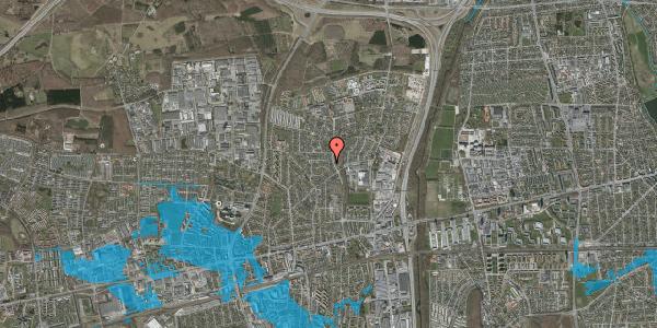 Oversvømmelsesrisiko fra vandløb på Bogfinkevej 26, 2600 Glostrup