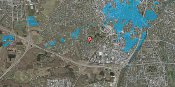 Oversvømmelsesrisiko fra vandløb på Brandsbjergvej 2, 2600 Glostrup
