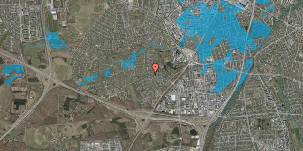 Oversvømmelsesrisiko fra vandløb på Brandsbjergvej 9, 2600 Glostrup