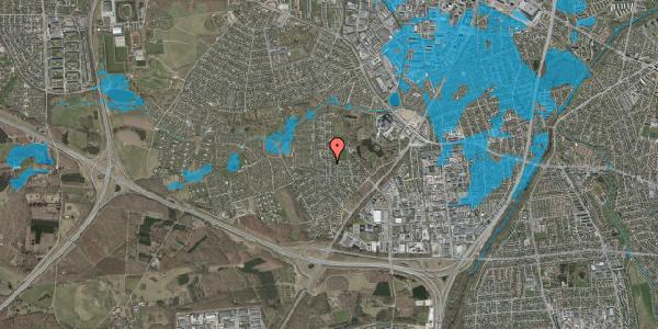 Oversvømmelsesrisiko fra vandløb på Brandsbjergvej 13, 2600 Glostrup