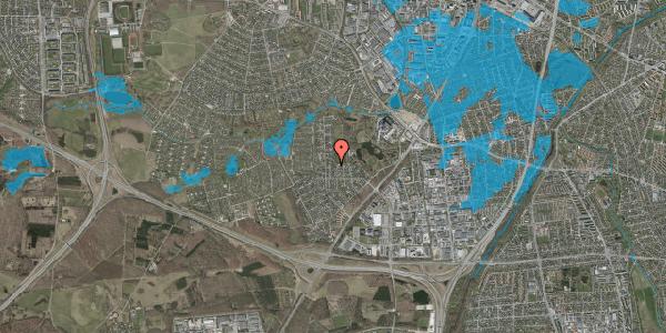 Oversvømmelsesrisiko fra vandløb på Brandsbjergvej 21, 2600 Glostrup